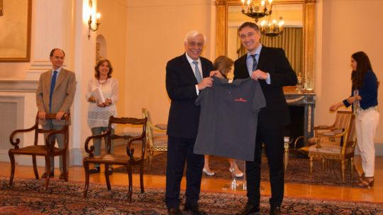 Besuch beim griechischen Staatspräsidenten