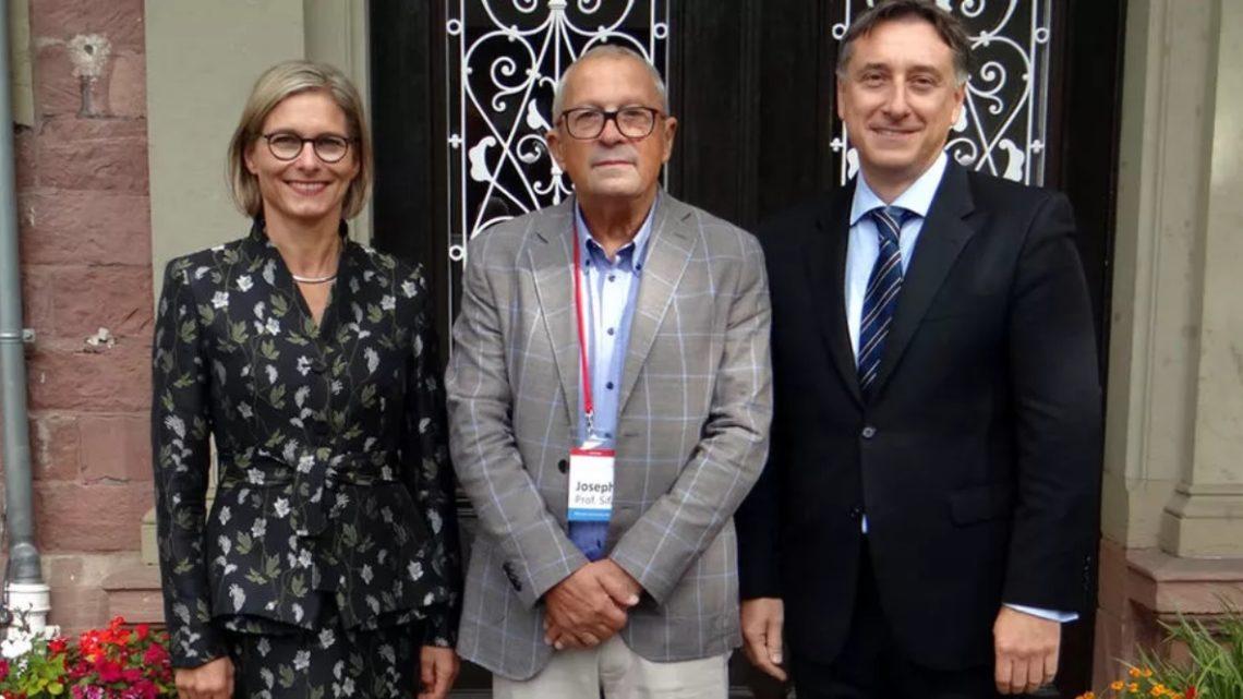 Turing-Preisträger Prof. Dr. Joseph Sifakis zu Besuch am Kurpfalz Internat